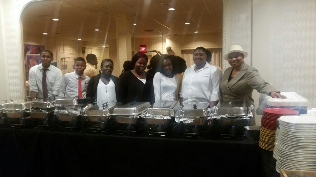 Tracy's Kitchen & Caterers providing professional catering services