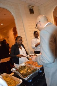 Tracy's Kitchen & Caterers Catering For A Wedding Ceremony